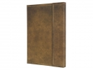 ,notitieboek Conceptum 194blz hard Vintage Brown 155x203mm   geruit