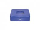 ,geldkistje Alco 300x240x90mm staal blauw