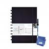 ,Notitieboek Correctbook uitwisbaar en herbruikbaar A4 marine blauw lijn 40blz