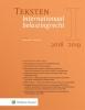 ,Teksten Internationaal belastingrecht 2018/2019