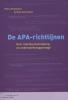 <b>Petra  Poelmans, Olav  Severijnen</b>,De APA-richtlijnen
