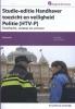 Harry de Pater A.  Sterk,Studie-editie Handhaver Toezicht en Veiligheid Politie