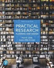 Leedy, Paul D.,   Ormrod, Jeanne Ellis Practical Research