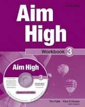 Davies, Paul A,   Falla, Tim,   Hudson, Jane Aim High Level 3 Workbook + CD-ROM