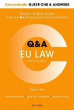 Foster, Nigel Concentrate Questions and Answers EU Law