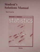 Neil A. Weiss Student`s Solutions Manual for Elementary Statistics