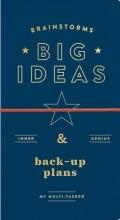 Galison Brainstorms, Big Ideas and Back-up Plans Multi-tasker Journal