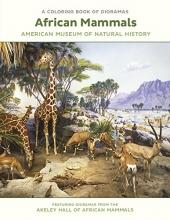 African Mammals Dioramas Coloring Book