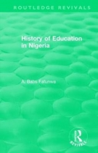 A.Babs Fafunwa History of Education in Nigeria