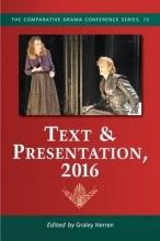 Text & Presentation, 2016