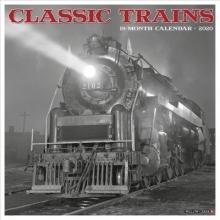 Willow Creek Press Classic Trains 2020 Wall Calendar