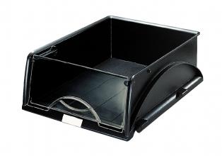 , Sorteerbak Leitz 5231 Sorty met klep zwart