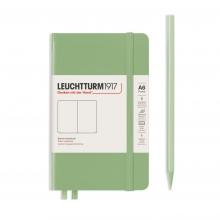 , Leuchtturm notitieboek pocket 90x150 blanco sage
