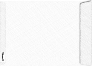 , Envelop Tyvek akte B4 254x350mm 54gr wit 100stuks