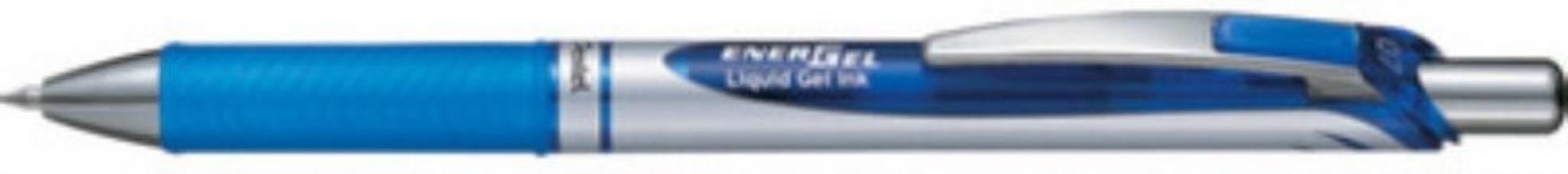 , Gelschrijver Pentel Energel BL77 zwart 0.4mm