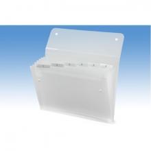 , Sorteermap Rexel Ice 6-vaks transparant