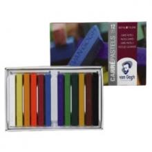 , Talens van gogh pastels set 12 stuks 90c12