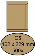 , Envelop Quantore akte C5 162x229mm bruinkraft 500stuks