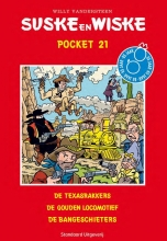 Vandersteen, Willy Pocket: de Texasrakkers; de gouden locomotief; de bangeschieters
