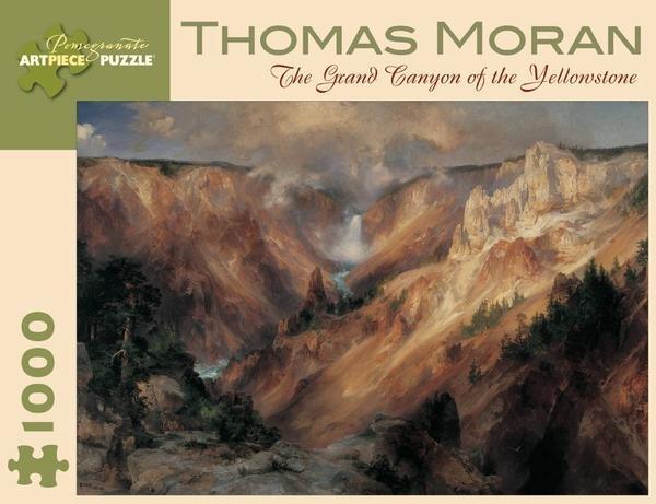 ,Thomas Moran - the Grand Canyon of the Yellowstone