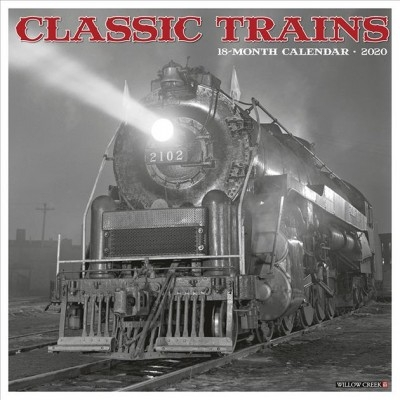 Willow Creek Press,Classic Trains 2020 Wall Calendar