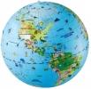 <b>Opblaasbare Wereldbol 50 Dieren Maxi Globe</b>,