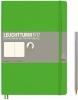 Lt357652 , Leuchtturm notitieboek composition 178x254 cm licht groen