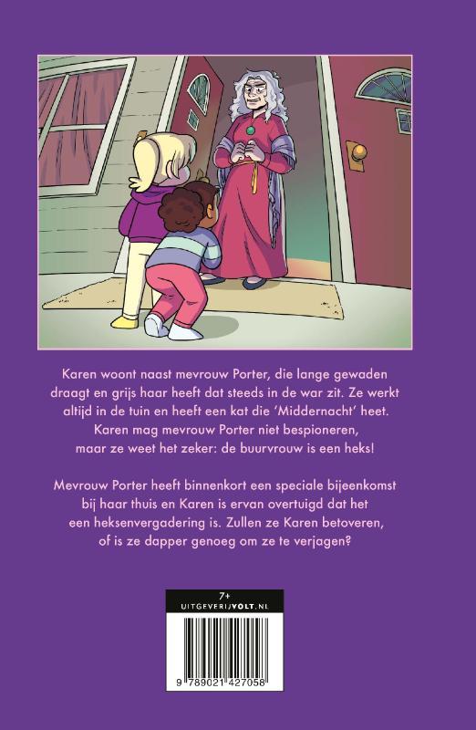 Ann M. Martin,De buurvrouw is een heks
