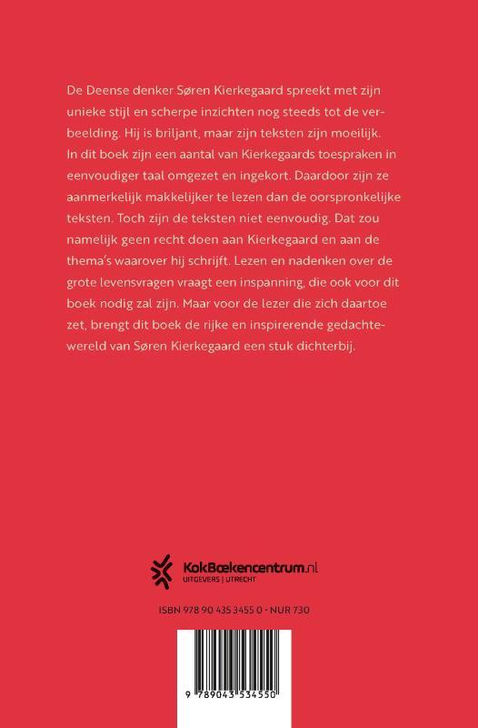 Geert Jan Blanken,Kierkegaard in gewone taal