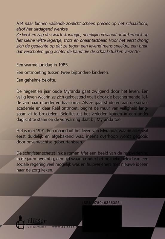 Sifre van der Linde,Mat