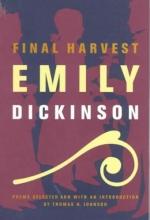 Emily Dickinson Final Harvest