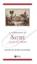 Quintero, Ruben A Companion to Satire