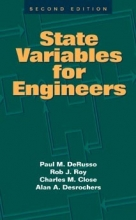 DeRusso, Paul M. State Variables for Engineers