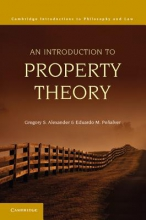 Alexander, Gregory S. An Introduction to Property Theory