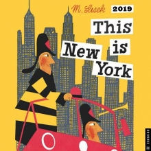 This is New York 2019 Square Wall Calendar