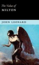 Leonard, John The Value of Milton
