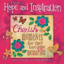 Mori, Deborah A Year of Hope and Inspiration 2017 Calendar