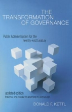 Donald F. Kettl The Transformation of Governance