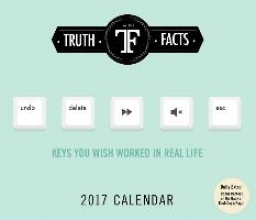 Wulff, Mikael,   Morgenthaler, Anders Truth Facts 2017 Calendar