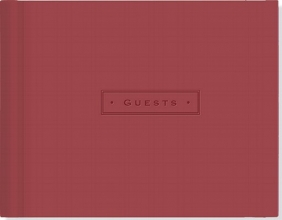 Burgundy Guest Book