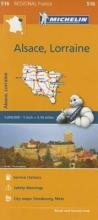 Alsace Lorraine - Michelin Regional Map 516