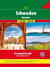 , Schweden - Autoatlas 1:250.000/1:400.000