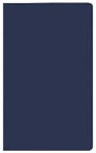 Taschenkalender Saturn Leporello PVC blau 2017
