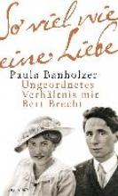 Banholzer, Paula So viel wie eine Liebe
