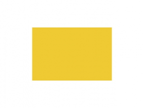, tekenpapier Folia 50x70cm 130gr pak a 25 vel goudgeel