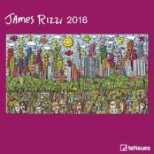 2016 James Rizzi 30 x 30 Grid Calendar