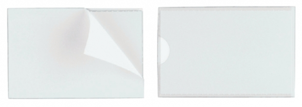 , Etikethouder Durable pocketfix 60x150mm zelfklevend
