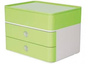 , Smart-box plus Han Allison 2 lades en box limoen groen