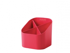 , Pennenkoker Han Re-LOOP 4-vaks rood