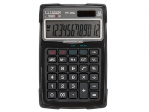 , Calculator Citizen outdoor desktop Business Line, zwart